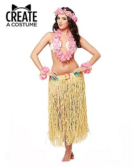 Hawaiian Hula Girl at Spirit Halloween
