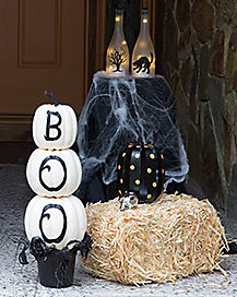 halloween home decor traditional - Halloween Home Decor