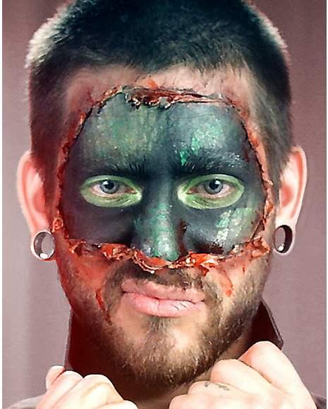 Lizard Within Makeup Tutorial at Spirit Halloween