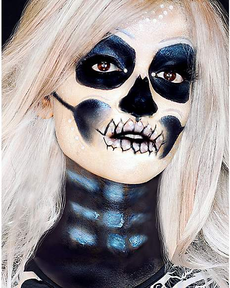 Metallic Skeleton Makeup Tutorial at Spirit Halloween