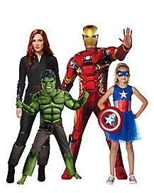 Avengers  sc 1 st  Spirit Halloween & Best Group u0026 Couplesu0027 Superhero Costumes - Spirithalloween.com