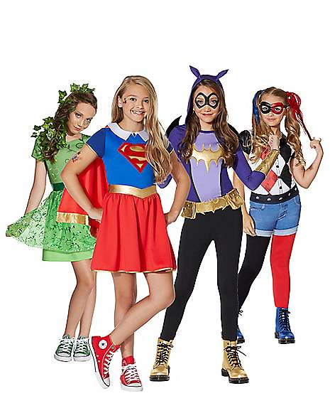 DC Superhero Girls  sc 1 st  Spirit Halloween & Best Group u0026 Couplesu0027 Superhero Costumes - Spirithalloween.com