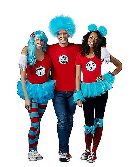 Thing 1 and Thing 2-Dr. Seuss at Spirit Halloween