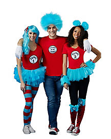 Thing 1 and Thing 2-Dr. Seuss