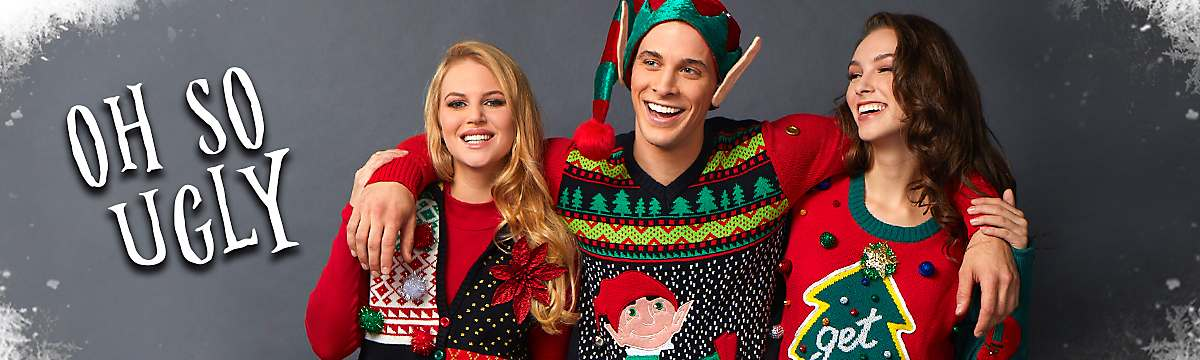 Ugly Christmas Sweaters for 2018