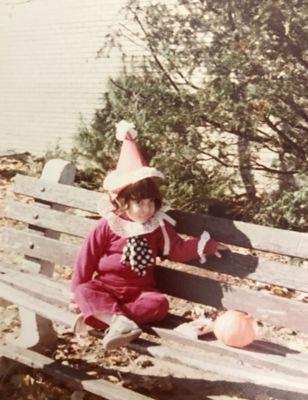 clown childhood halloween costume