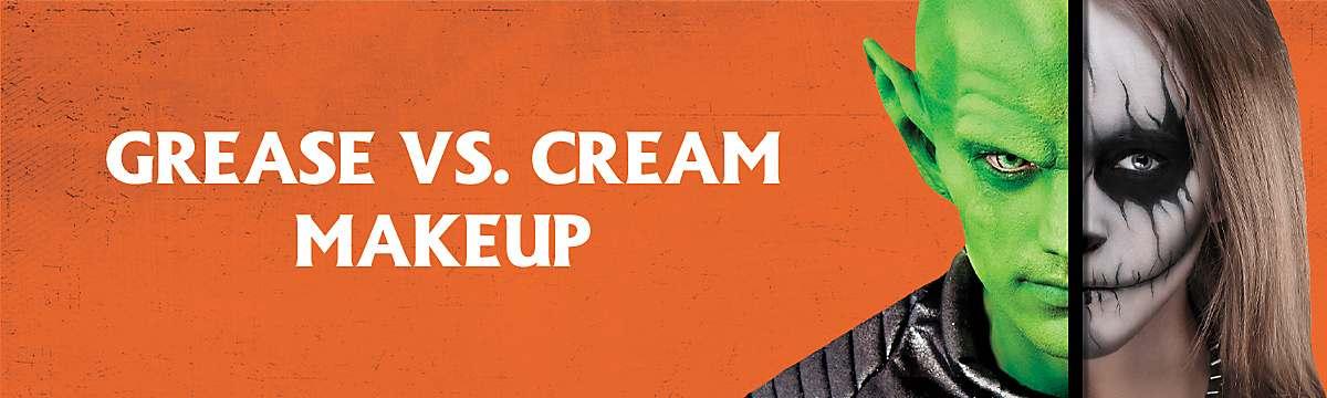 cream vs grease makeup
