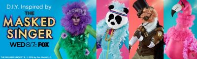 diy halloween costumes inspired by the masked singer