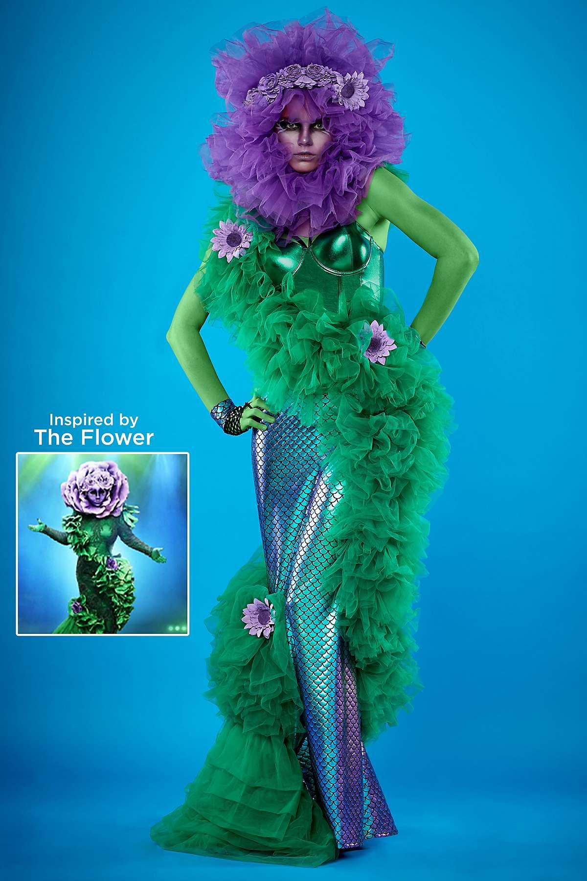 who is flower on masked singer