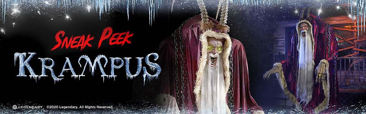 Spirit Halloween Decorations 2020 Krampus Accessories & Décor Help Spirit Halloween Bring Ancient