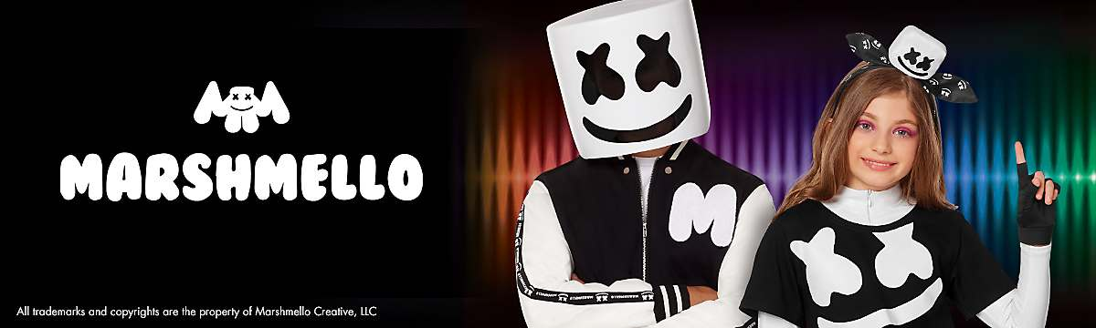 new Marshmello costumes and masks