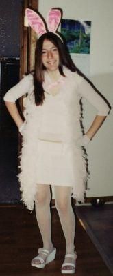 bunny childhood halloween costume